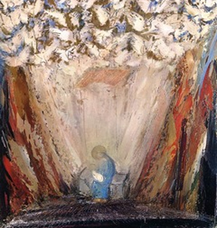 "William Congdon, ""Natività"", 1960."