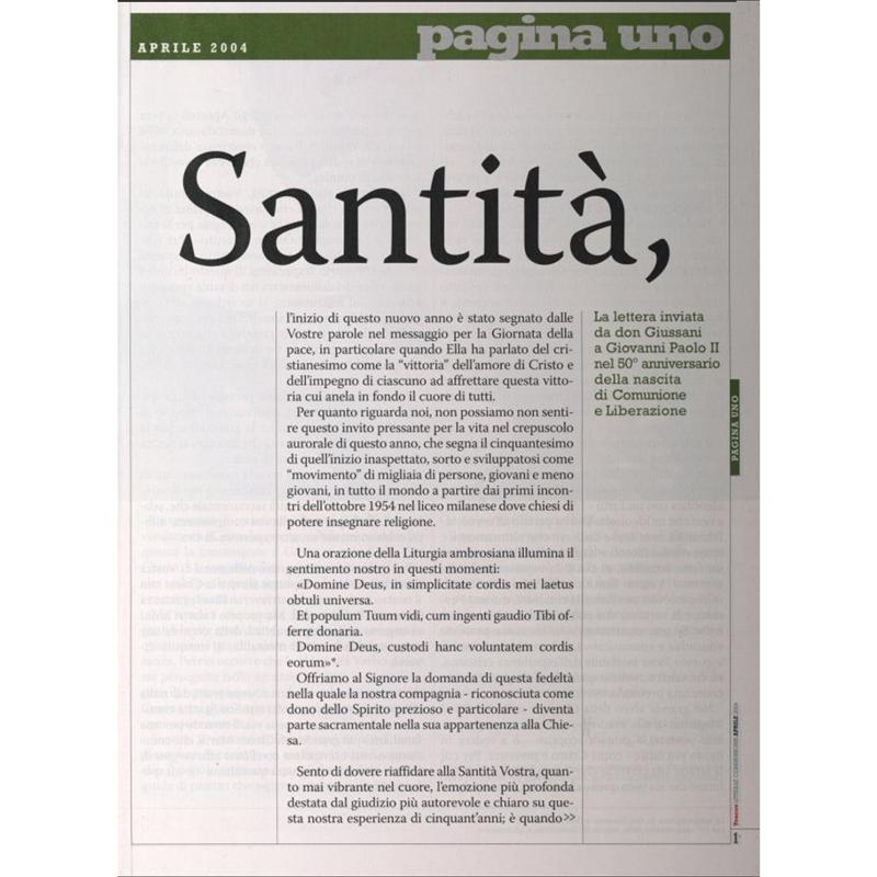 Anniversario Di Matrimonio Giussani.Santita