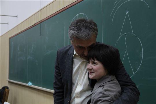 Tanja con Kostantin Sigov
