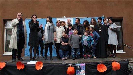 La festa d'inaugurazione al DanteFEST di Kharkov