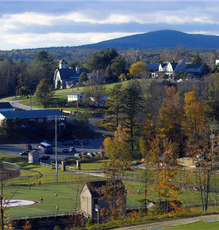 Il campus della Franklin Pierce University di Rindge