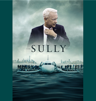 """Sully"" di Clint Eastwood, con Tom Hanks, Aaron Eckhart. Usa, 2016"