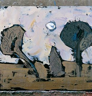 William Congdon, Tre alberi, 1998