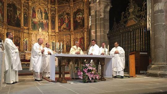La messa nella Cattedrale
