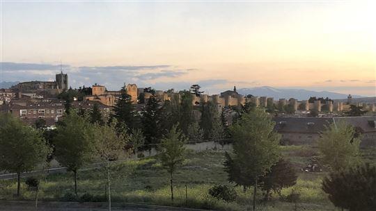 Ávila, con le sua mura