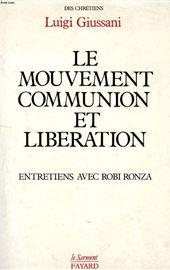 Giussani-Ronza, Le mouvement  Communion et Libération