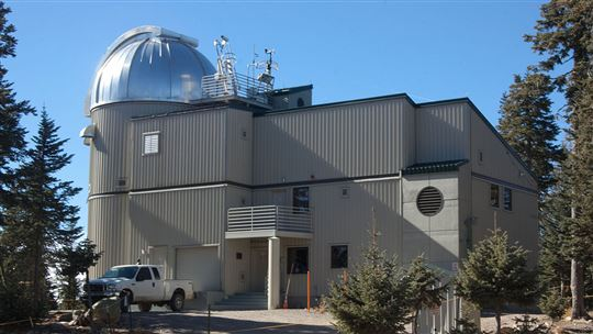 Arizona. Il ''Vatican Advanced Technology Telescope'' (VATT) sul monte Graham