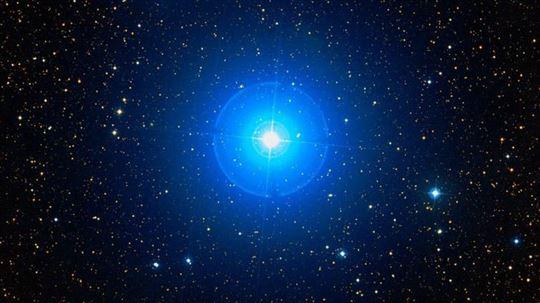Una stella variabile, la ''β Cephei''