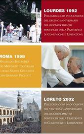 DVD - CL Lourdes 1992 – Rome 1998 – Lorette 2002