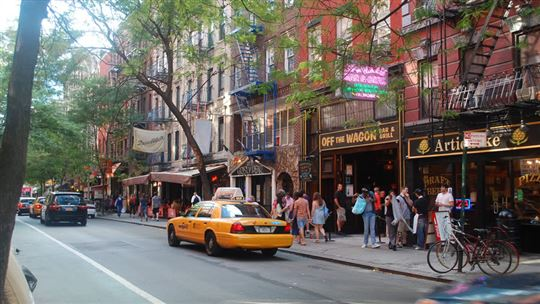 Greenwich Village a New York