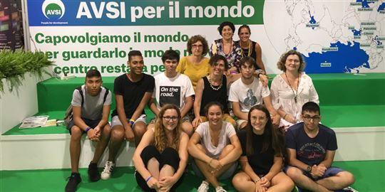 Studenti e professoresse del ''Giordano Bruno'' di Albenga al Meeting di Rimini