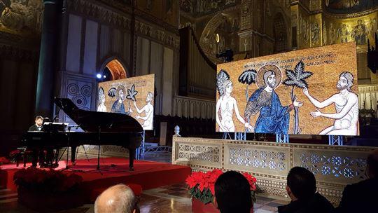Il concerto nel Duomo di Monreale